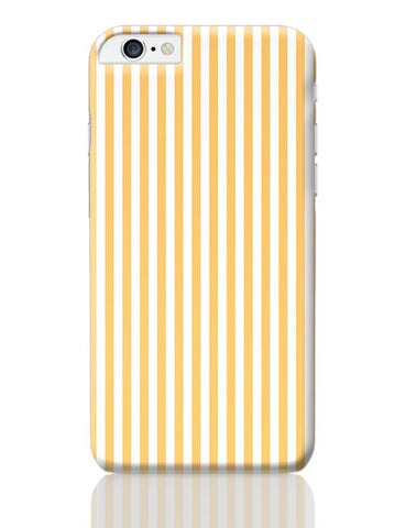 Orange Stripes iPhone 6 Plus / 6S Plus Covers Cases Online India