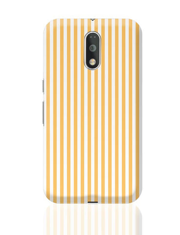 Orange Stripes Moto G4 Plus Online India