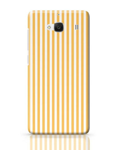 Orange Stripes Redmi 2 / Redmi 2 Prime Covers Cases Online India