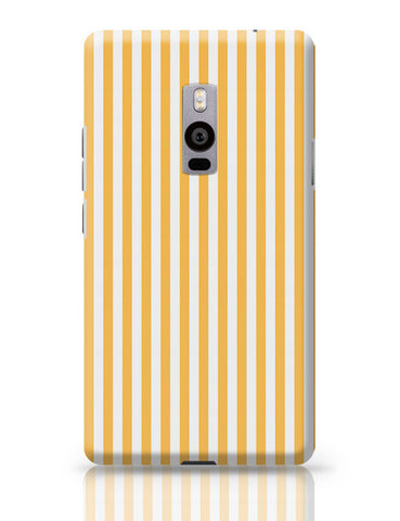 Orange Stripes OnePlus Two Covers Cases Online India