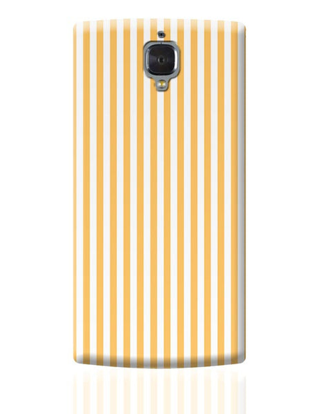 Orange Stripes OnePlus 3 Covers Cases Online India