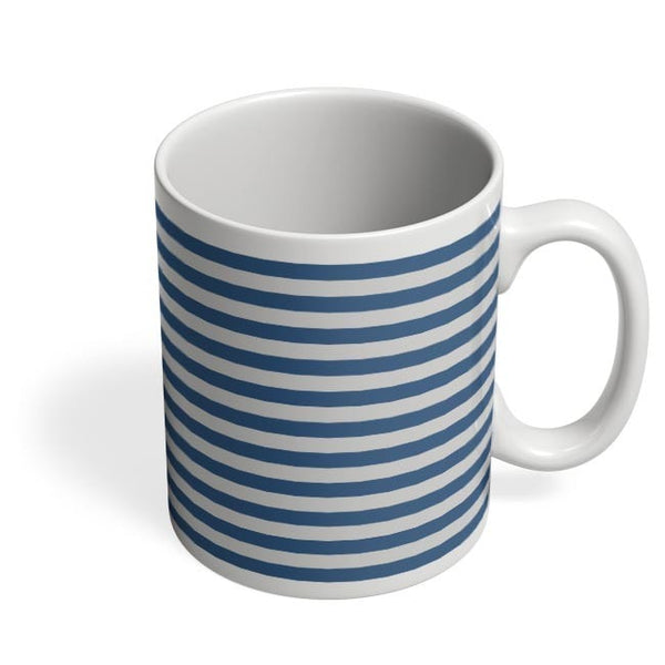Blue Stripes Coffee Mug Online India