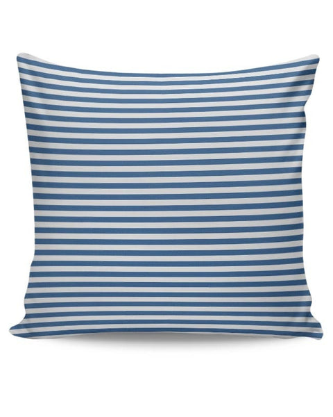 Blue Stripes Cushion Cover Online India