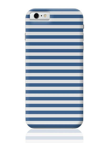 Blue Stripes iPhone 6 6S Covers Cases Online India