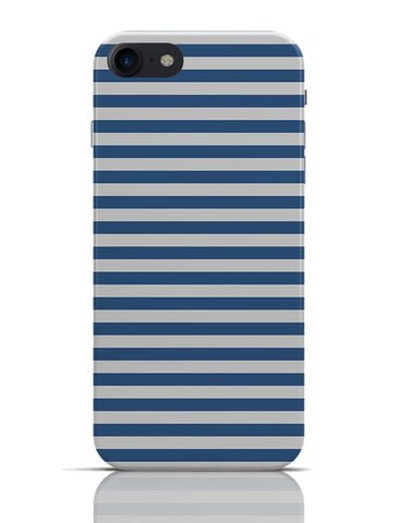 Blue Stripes iPhone 7 Covers Cases Online India