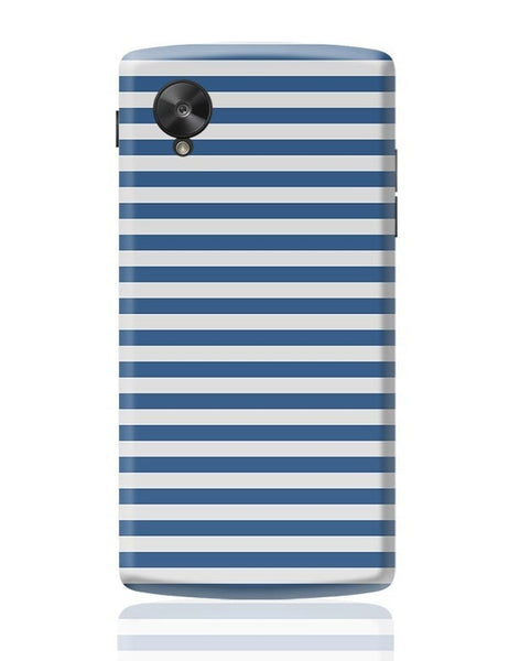 Blue Stripes Google Nexus 5 Covers Cases Online India