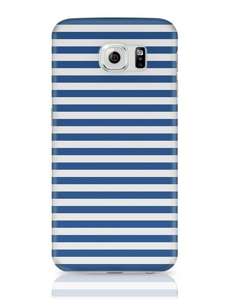 Blue Stripes Samsung Galaxy S6 Covers Cases Online India