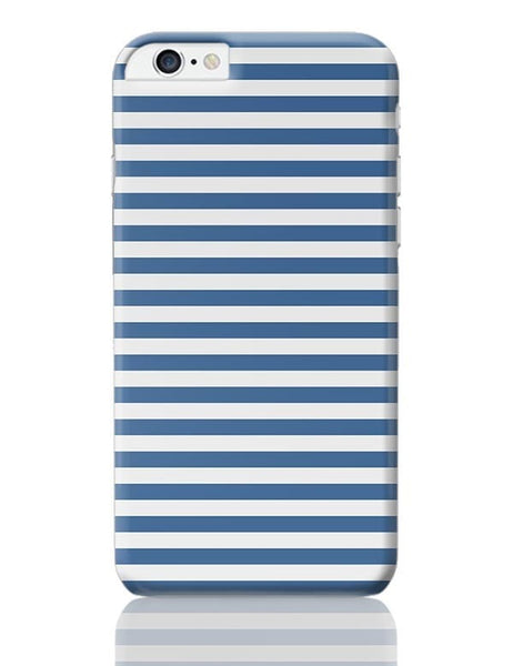 Blue Stripes iPhone 6 Plus / 6S Plus Covers Cases Online India