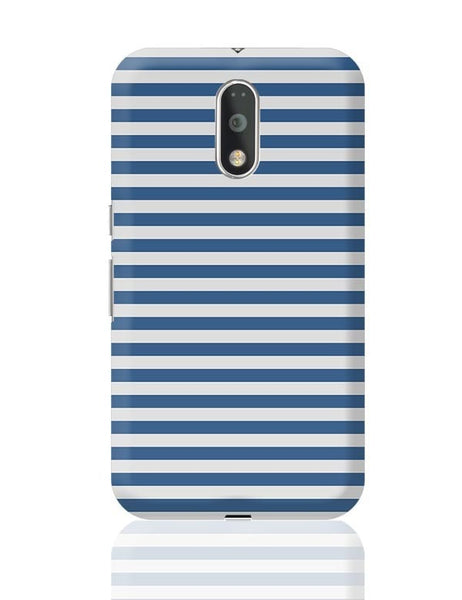 Blue Stripes Moto G4 Plus Online India