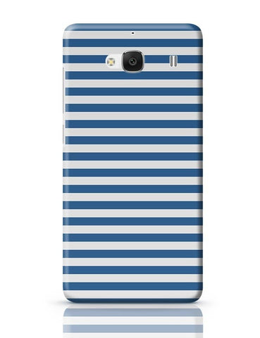Blue Stripes Redmi 2 / Redmi 2 Prime Covers Cases Online India