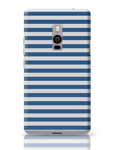 Blue Stripes OnePlus Two Covers Cases Online India