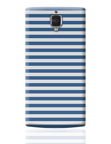 Blue Stripes OnePlus 3 Covers Cases Online India