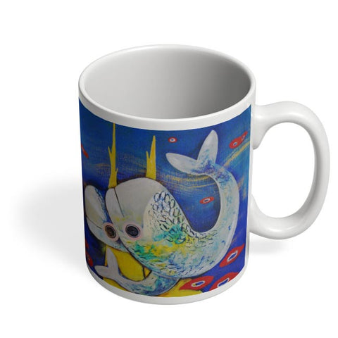 Coffee Mugs Online | Fish Coffee Mug Online India