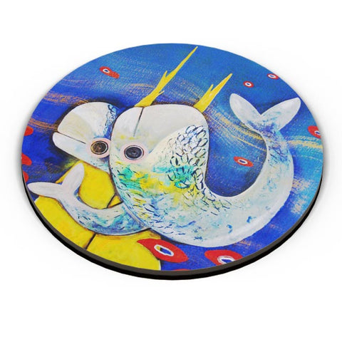 PosterGuy | Fish Fridge Magnet Online India by Aditi Hazra