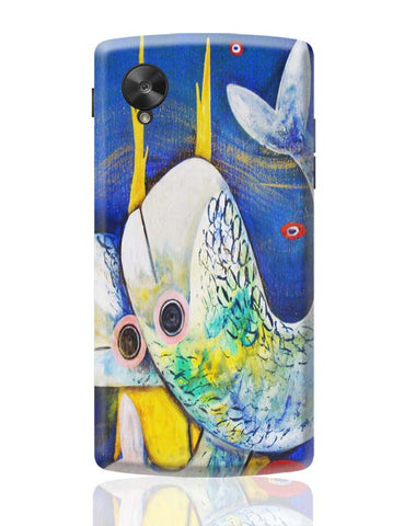 Google Nexus 5 Covers | Fish Google Nexus 5 Case Cover Online India