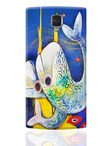 Fish OnePlus 3 Cover Online India