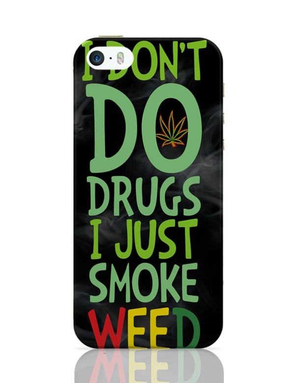 online retailer f2ebc 3be97 Smoke Weed iPhone 5 / 5S Case Cover
