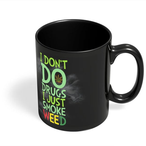 Coffee Mugs Online | Smoke Weed Black Coffee Mug Online India