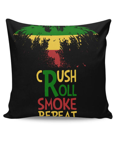 PosterGuy | Crush Roll Repeat Cushion Cover Online India