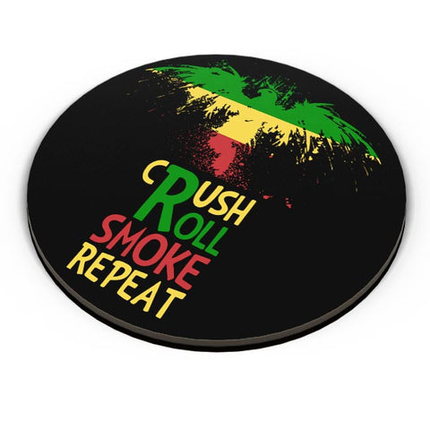 PosterGuy | Crush Roll Repeat Fridge Magnet Online India by Creative Monk