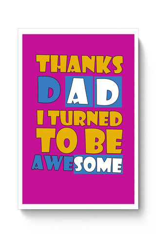 Awesomedad Poster Online India