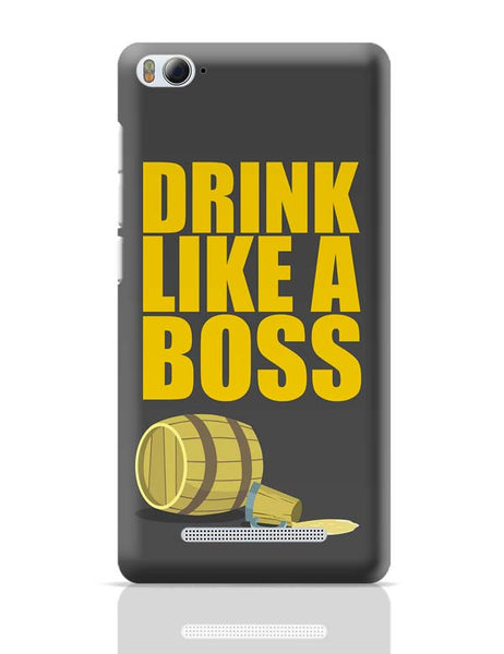 Drink Like A Boss Xiaomi Mi 4i Covers Cases Online India