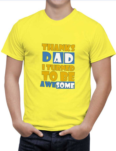 Buy Awesomedad Woman T-Shirts Online India | Awesomedad T-Shirt | PosterGuy.in