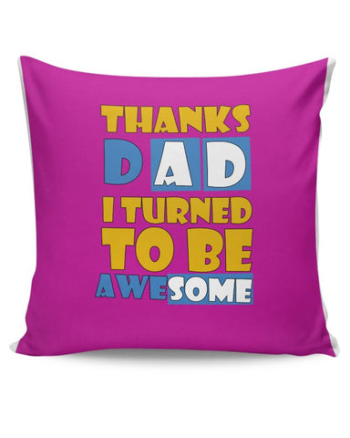 Awesomedad Cushion Cover Online India