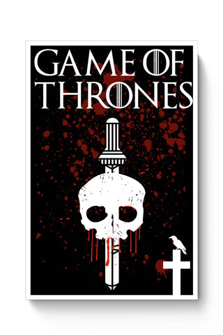 Thrones Typography Poster Online India
