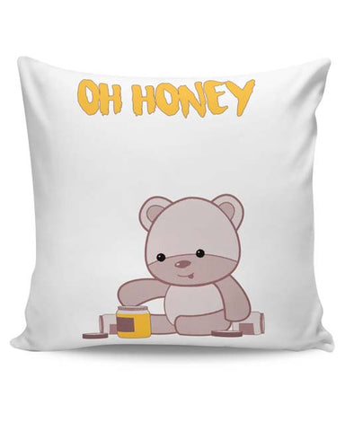 PosterGuy | Honey Bear Cushion Cover Online India