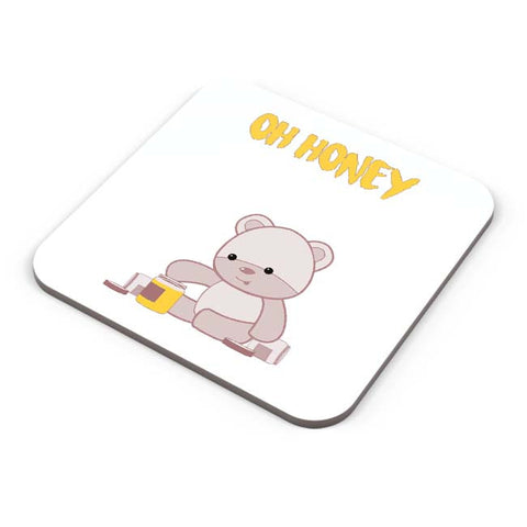 Buy Coasters Online | Honey Bear Coaster Online India | PosterGuy.in