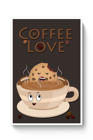 Buy Coffee Love Poster