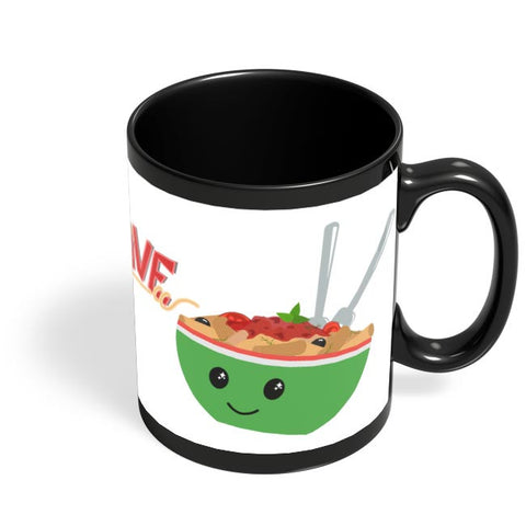 FoodLove Black Coffee Mug Online India