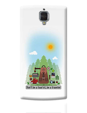 Traveler OnePlus 3 Covers Cases Online India
