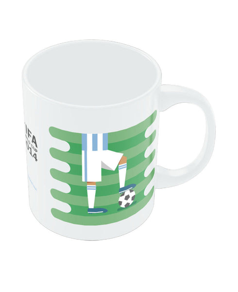 FIFA Worldcup 2014 Argentina Field Football Mug