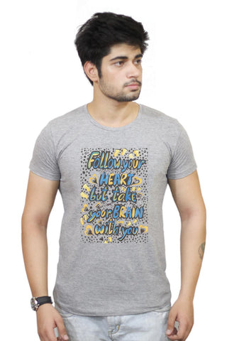 Buy Follow Your Heart T-Shirts Online India | Follow Your Heart T-Shirt | PosterGuy.in