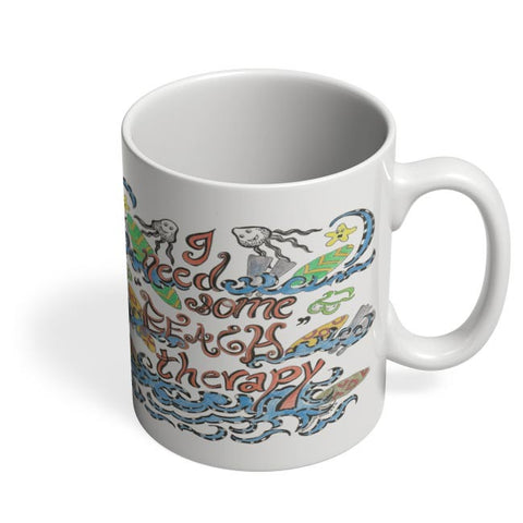 Coffee Mugs Online | Beach Therapy Coffee Mug Online India