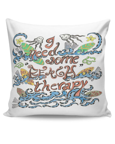PosterGuy | Beach Therapy Cushion Cover Online India