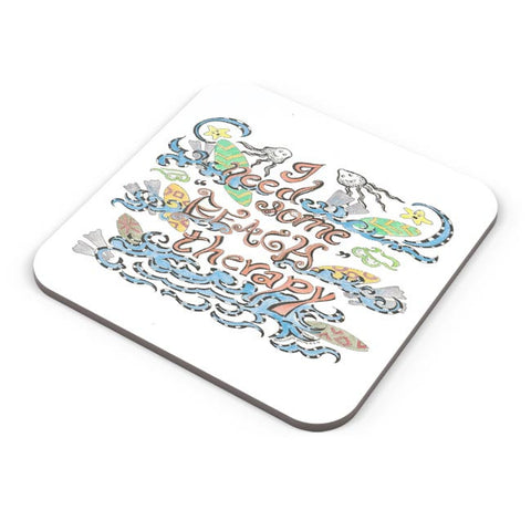 Buy Coasters Online | Beach Therapy Coasters Online India | PosterGuy.in