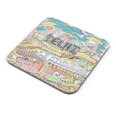 Buy Coasters Online | Delhi Belly Coasters Online India | PosterGuy.in