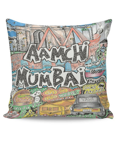 PosterGuy | Aamchi Mumbai Cushion Cover Online India