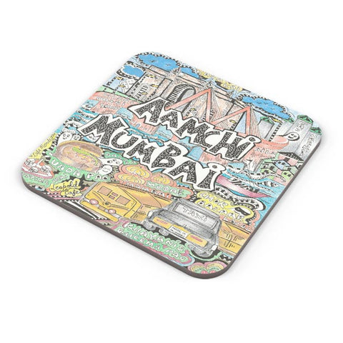 Buy Coasters Online | Aamchi Mumbai Coasters Online India | PosterGuy.in