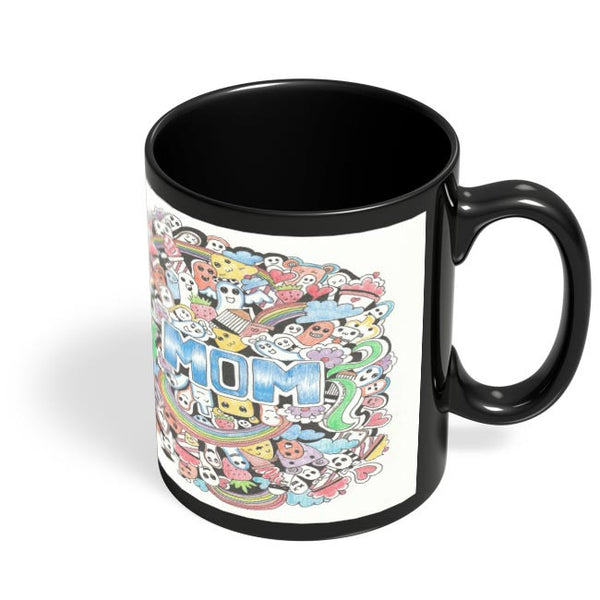 Coffee Mugs Online | My Mom Is Wow Black Coffee Mug Online India