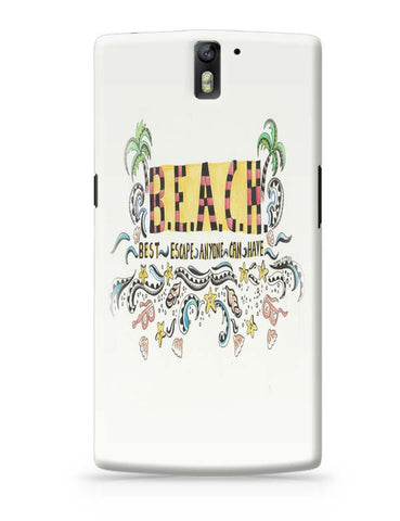 Beach OnePlus One Covers Cases Online India