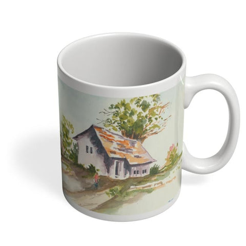 Being Indian, Home, Landscape, Bliss, Peace, Happiness, Family  Coffee Mug Online India