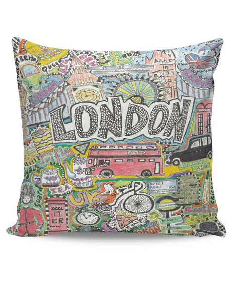 London Cushion Cover Online India