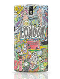 London Oneplus One Covers Cases