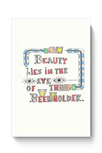 Buy Beauty in Beer Poster