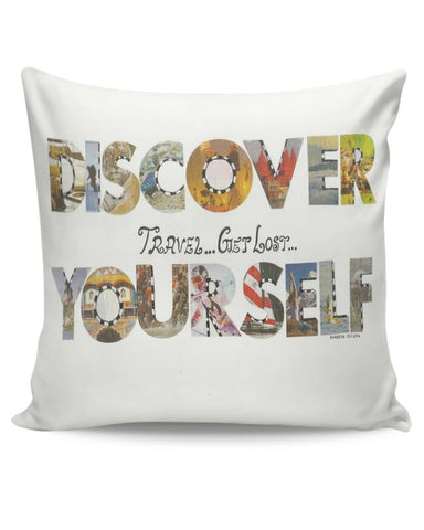 Discover yourself Cushion Cover Online India