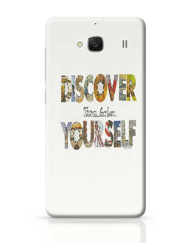 Discover yourself Redmi 2 / Redmi 2 Prime Covers Cases Online India